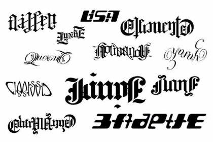 Ambigrams Set 1
