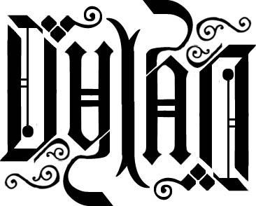Ambigram Dylan2