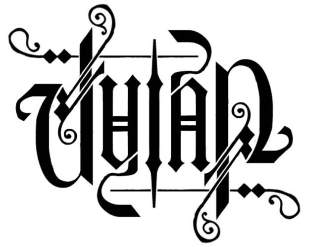 Ambigram Dylan1