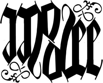 Ambigram -Modee