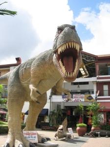 T-rex found its prey
