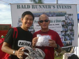With Baldrunner.  I donated my NB1024.  I also gave the Takbo.ph pins