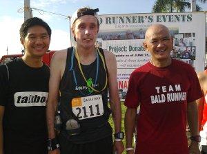 With Wanye aka SFRunner and Baldrunner